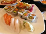 Masago Roll, Salmon Avocado Roll, Salmon & White Tuna Sushi